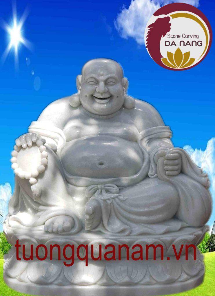 Phật Di Lặc bằng đá